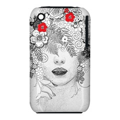 Flower Child Apple iPhone 3G/3GS Hardshell Case (PC+Silicone)