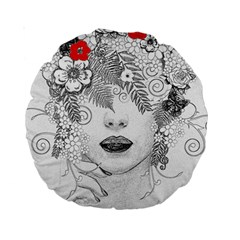 Flower Child 15  Premium Round Cushion
