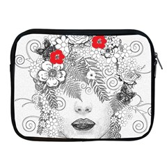 Flower Child Apple iPad Zippered Sleeve