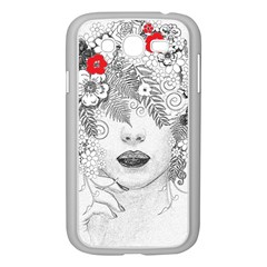 Flower Child Samsung Galaxy Grand DUOS I9082 Case (White)