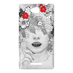 Flower Child Sony Xperia C (S39H) Hardshell Case