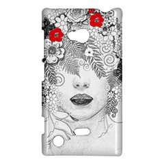 Flower Child Nokia Lumia 720 Hardshell Case