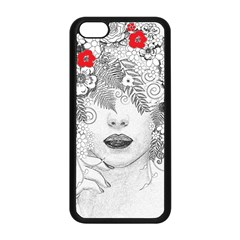 Flower Child Apple Iphone 5c Seamless Case (black)