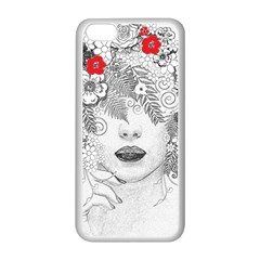 Flower Child Apple iPhone 5C Seamless Case (White)