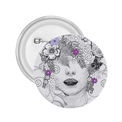 Flower Child Of Hope 2.25  Button