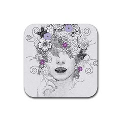 Flower Child Of Hope Drink Coasters 4 Pack (Square)