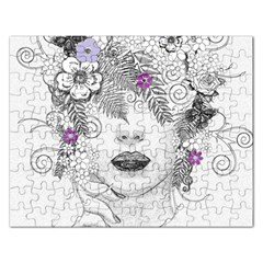 Flower Child Of Hope Jigsaw Puzzle (Rectangle)