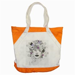 Flower Child Of Hope Accent Tote Bag