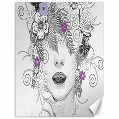 Flower Child Of Hope Canvas 12  x 16  (Unframed)
