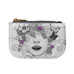 Flower Child Of Hope Coin Change Purse