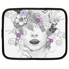 Flower Child Of Hope Netbook Sleeve (xxl)