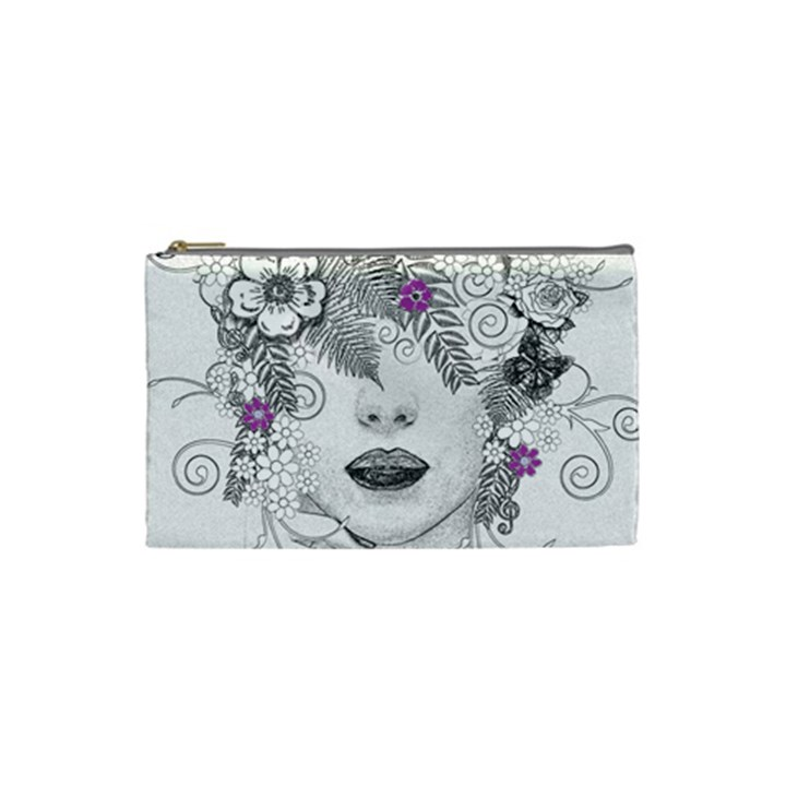 Flower Child Of Hope Cosmetic Bag (Small)