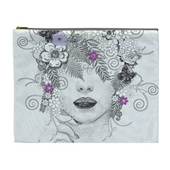 Flower Child Of Hope Cosmetic Bag (XL)