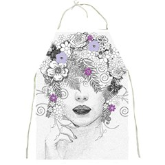 Flower Child Of Hope Apron