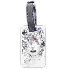 Flower Child Of Hope Luggage Tag (One Side)