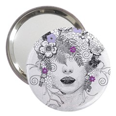 Flower Child Of Hope 3  Handbag Mirror