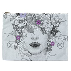 Flower Child Of Hope Cosmetic Bag (XXL)