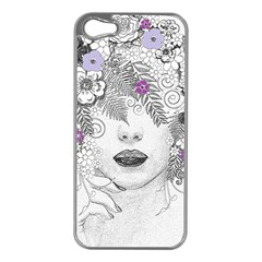 Flower Child Of Hope Apple Iphone 5 Case (silver)