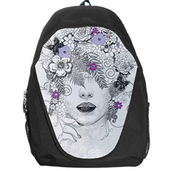 Flower Child Of Hope Backpack Bag