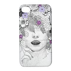 Flower Child Of Hope Apple iPhone 4/4S Hardshell Case with Stand
