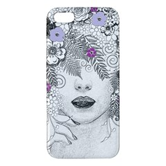 Flower Child Of Hope Apple Iphone 5 Premium Hardshell Case