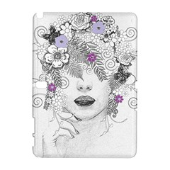 Flower Child Of Hope Samsung Galaxy Note 10.1 (P600) Hardshell Case