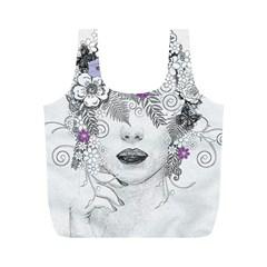 Flower Child Of Hope Reusable Bag (M)