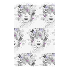 Flower Child Of Hope Shower Curtain 48  X 72  (small)