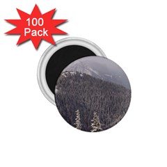 Mountains 1.75  Button Magnet (100 pack)