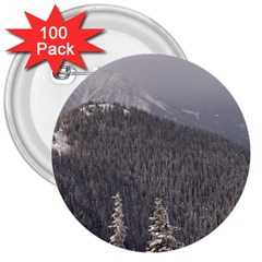 Mountains 3  Button (100 pack)