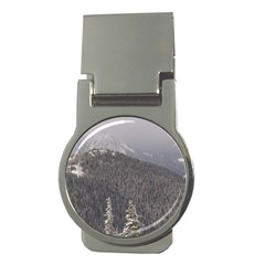 Mountains Money Clip (round)