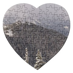 Mountains Jigsaw Puzzle (Heart)