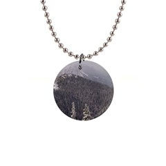 Mountains Button Necklace