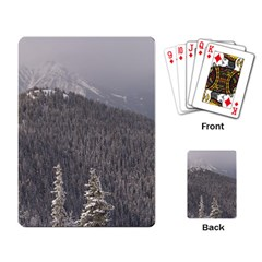 Mountains Playing Cards Single Design