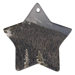 Mountains Star Ornament (two Sides)