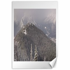 Mountains Canvas 20  x 30  (Unframed)