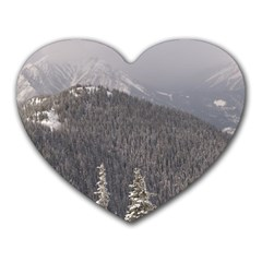 Mountains Mouse Pad (Heart)
