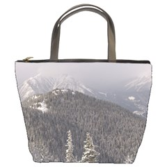 Mountains Bucket Handbag
