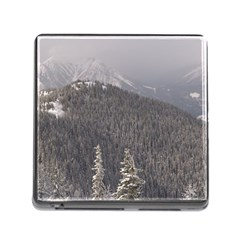 Mountains Memory Card Reader With Storage (square)
