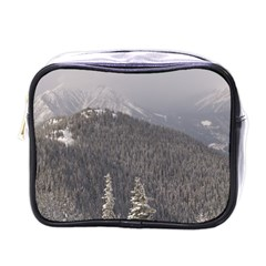 Mountains Mini Travel Toiletry Bag (one Side)