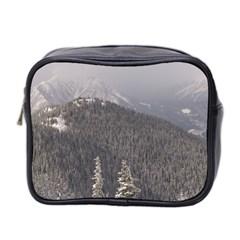 Mountains Mini Travel Toiletry Bag (two Sides)