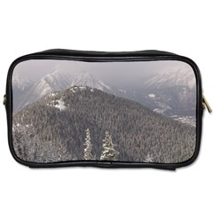 Mountains Travel Toiletry Bag (two Sides)