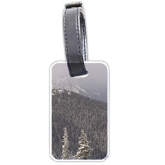 Mountains Luggage Tag (one Side)