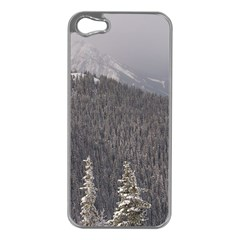 Mountains Apple iPhone 5 Case (Silver)