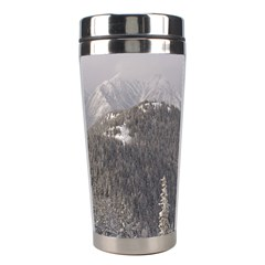 Mountains Stainless Steel Travel Tumbler