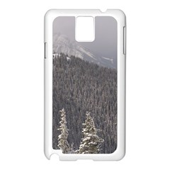 Mountains Samsung Galaxy Note 3 N9005 Case (White)