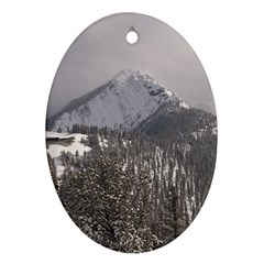 Gondola Oval Ornament (Two Sides)
