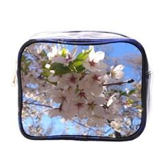 Sakura Mini Travel Toiletry Bag (one Side)