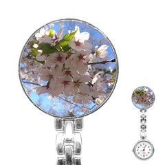 Sakura Stainless Steel Nurses Watch
