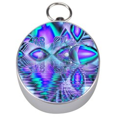 Peacock Crystal Palace Of Dreams, Abstract Silver Compass